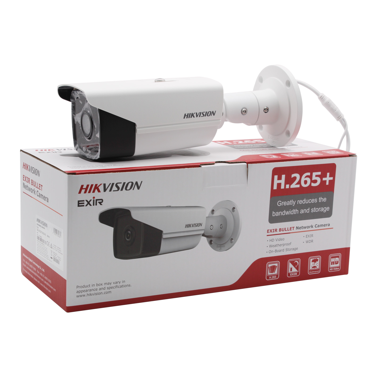 Image 5 - Hikvision New Video Surveillance Camera outdoor DS 2CD2T43G0 I5 4MP IR 50M Bullet POE IP Camera H.265+ Replace DS 2CD2T42WD I5-in Surveillance Cameras from Security & Protection