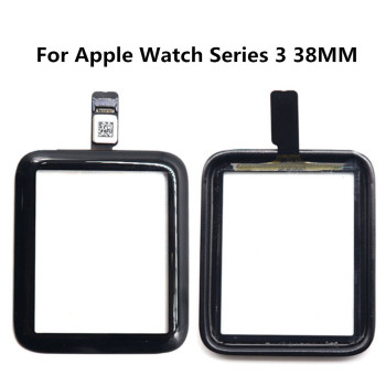 Front Glass For Apple Watch Series 3 38mm 42mm Watch Touch Screen Outer Glass Panel For iWatch 3 S3 Replacement Parts image