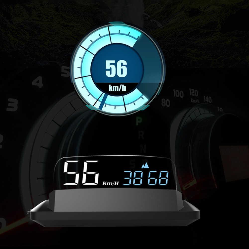 Eanop 2020 新hud M41 ヘッドアップディスプレイgpsスピードメーター車速度プロジェクターkmh/kpmにも対応してすべての車
