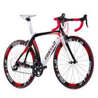 HOT SALE!full carbon costelo lucca road bicycle carbon bike DIY complete road bike completo bicicletta bicicleta completa