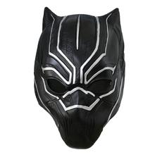 Black Panther Latex Mask Man Halloween Party Accessories