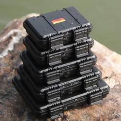 Ящик для инструментов пластиковый герметичный водонепроницаемый защитный ящик оборудование чехол для Инструмента Контейнер Коробка для х...