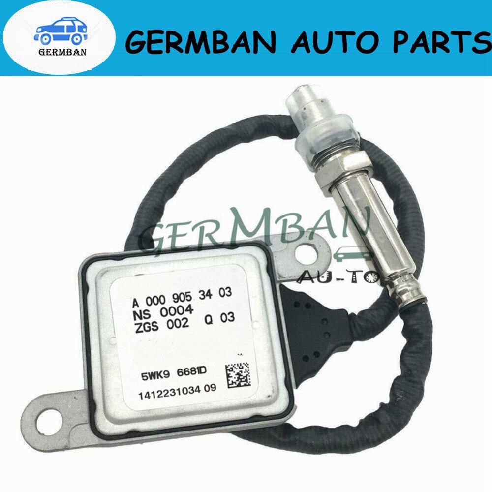 Nitrógeno Sensor de Nox para Mercedes Benz W166 W172 W205 W221 W251 W212 W222 W207 W906 ML250 GL350 5WK96681C A0009053403 A0009056104
