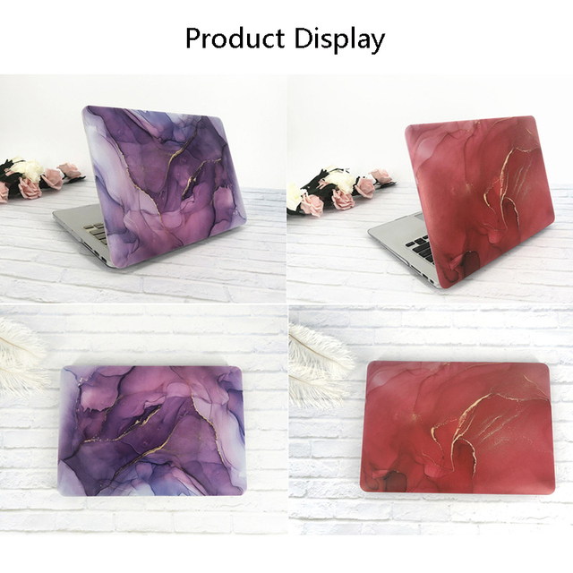 MTT Laptop Case For Macbook Air Pro Retina 11 12 13 15 16 Marble Cover for mac book 13.3 inch Touch Bar a1466 a1932 a2159 a2141 4