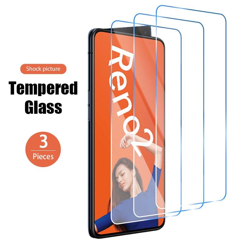 1/2/3 шт. Экран протектор для OPPO Reno4 5G Reno3 Pro пленка сотового Защитная пленка для экрана телефона с уровнем твердости 9H для защиты от царапин Сте...