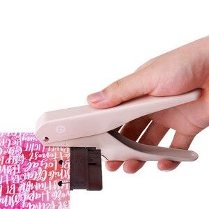Image 3 - Т образные дыроколы для блокнота, ручная штамповочная машина для скрапбукинга, бумаги «сделай сам», офисное крепление, Дырокол