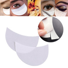 100 шт./партия 50 пар Одноразовые патчи для макияжа под накладкой для ресниц удлинитель для ресниц патч многофункциональный инструмент для макияжа глаз