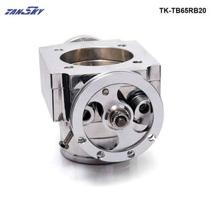 Image 4 - TANSKY   Universal High Flow Aluminium 65mm Intake Manifold Throttle Body For Nissan RB20 TK TB65RB20