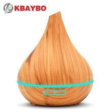 KBAYBO אולטרסאונד אוויר מכשיר אדים ארומה חיוני שמן מפזר עץ ארומתרפיה מגניב יצרנית ערפל fogger אוויר מאדה עבור בית