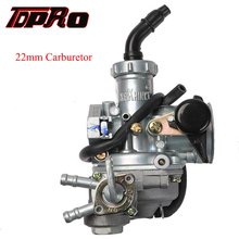 TDPRO PZ22 22mm Racing Carburetor & Fuel Tap Cable Choke 50cc-150cc Motorcycle ATV Gokart Buggy Pit Dirt Bike 4 Wheeler Coolster