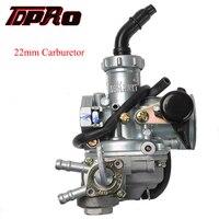 TDPRO PZ22 22mm Racing Carburetor & Fuel Tap Cable Choke 50cc 150cc Motorcycle ATV Gokart Buggy Pit Dirt Bike 4 Wheeler Coolster
