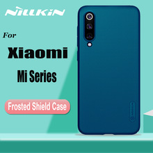 for Xiaomi Mi 9 8 SE 9T Pro Case Cover Nillkin Frosted Shield Hard PC Full Cases Lite CC9 CC9E A3 Shell