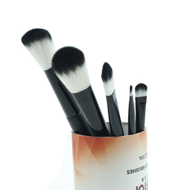 mistura beleza feminino cosméticos compõem escova maquilagem