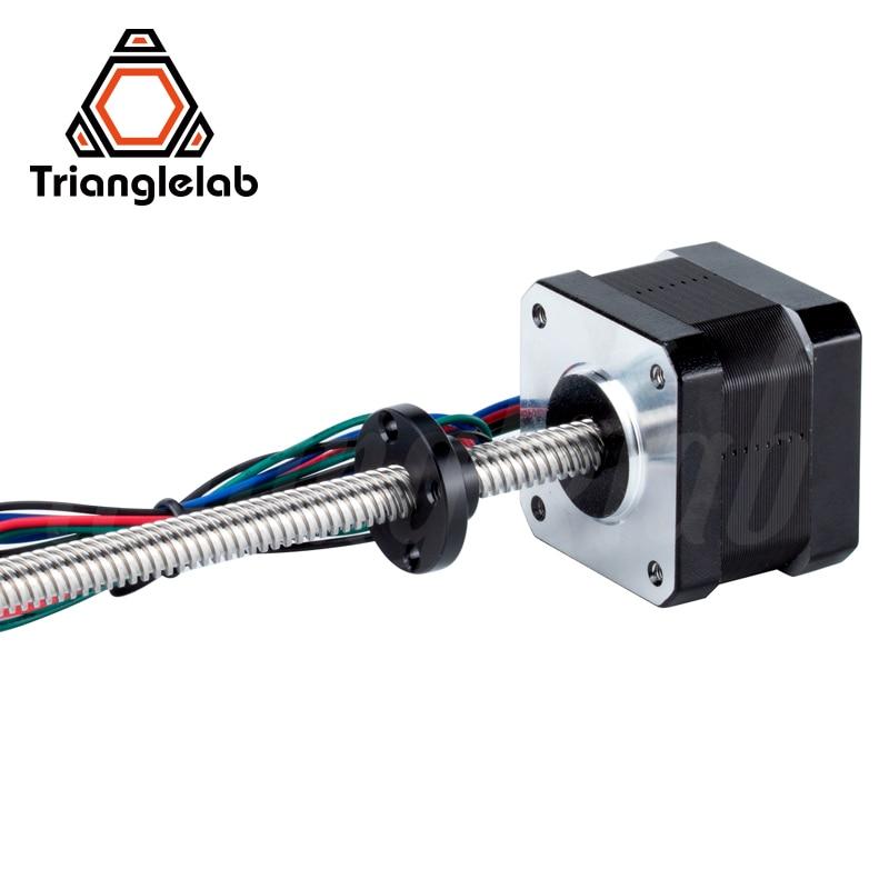 trianglelab 1PC Nema17 Leadscrew stepper motor T8X8 L 320MM 1 2A for 3D printing prusa i3