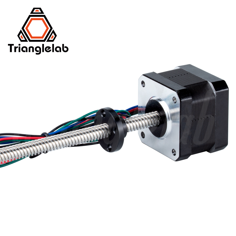 trianglelab 1PC Nema17 Leadscrew stepper motor T8X8 L=320MM 1.2A for 3D printing prusa i3