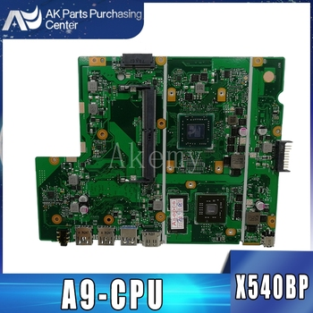 Akemy X540BP Motherboard For ASUS X540BP X540B Laotop Mainboard with A9-CPU