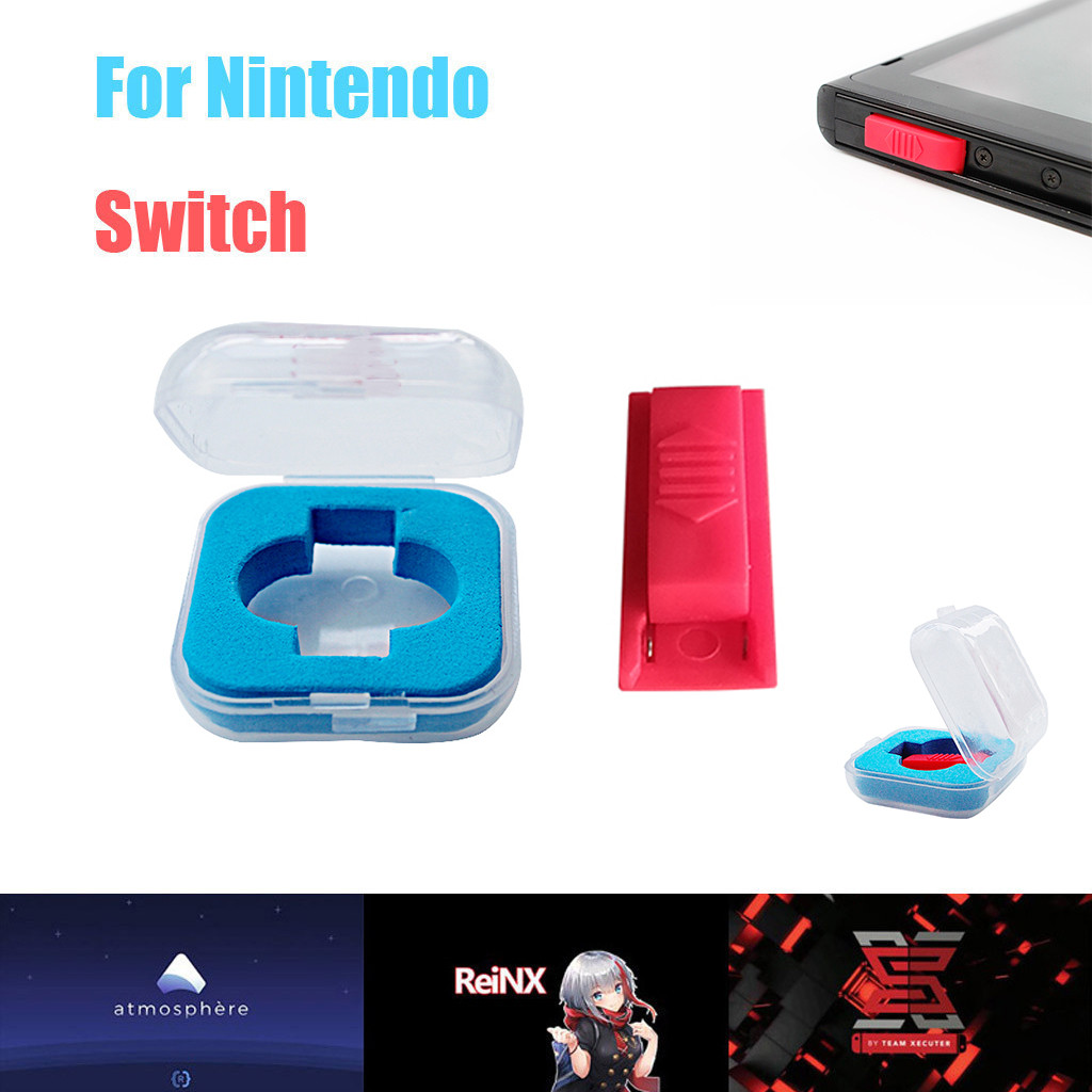 CARPRIE ABS Short Connector With Storage Box Circuit DN Paper Clip Jig For Nintendo Switch RCM Mode Kits