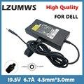 Адаптер для ноутбука LZUMWS, 130 Вт, 19,5 в, 4,5 А, 3,0*9530 мм, зарядное устройство постоянного тока для Dell XPS 14 XPS 15 7000, точность M6300, Ispiron15, 7557, мощность