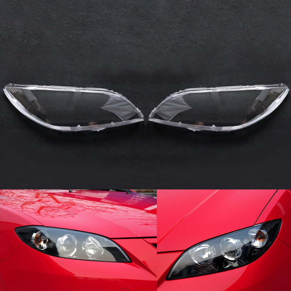 Car Headlamp Lens  For Mazda 3 2006 2007 2008 2009 2010 2011 2012  Car  Replacement  Auto Shell Cover ( Sedan)