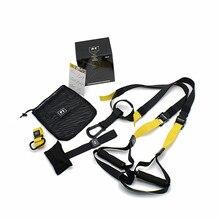 Direnç bantları Crossfit süspansiyon egzersiz ayarlanabilir çekme halatı spor ekipmanları spor asılı eğitim sapanlar spor egzersiz
