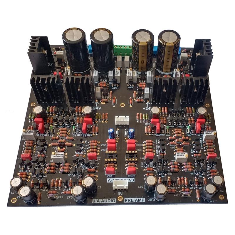 Lusya Golden Throat Preamp Audio A100 Upgrade HIFI PCB Amplifier Board A100SSPV2 T1317