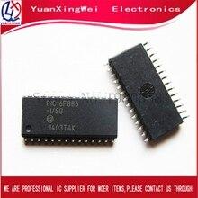 Бесплатная доставка, оригинальная электронная сигарета, PIC16F886 16F886 SOP28 100 шт./лот