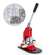 SolToPrint Button Maker 1 Inch 25mm Button Badge Maker 1000pcs Aluminum Frame Free Button Parts and Circle Cutter