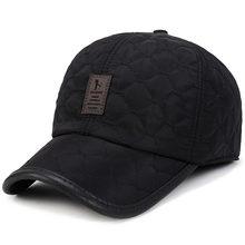 Новая модная мужская зимняя теплая бейсбольная кепка мужские