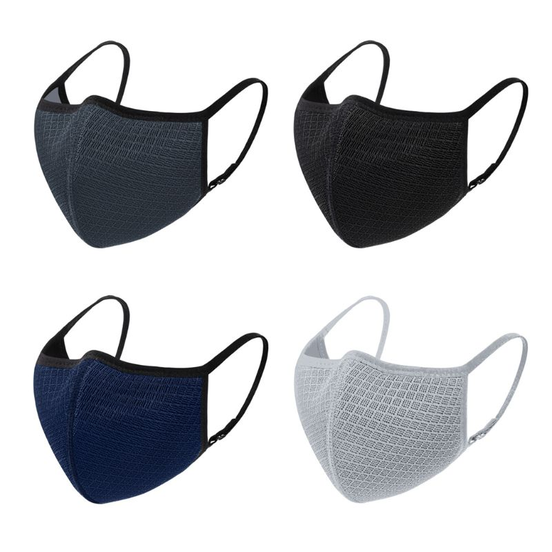 Reusable Washable Mouth Mask Anti-pollution Anti-smog Dustproof Breathable Protective Cover Outdoor Cycling Respirator