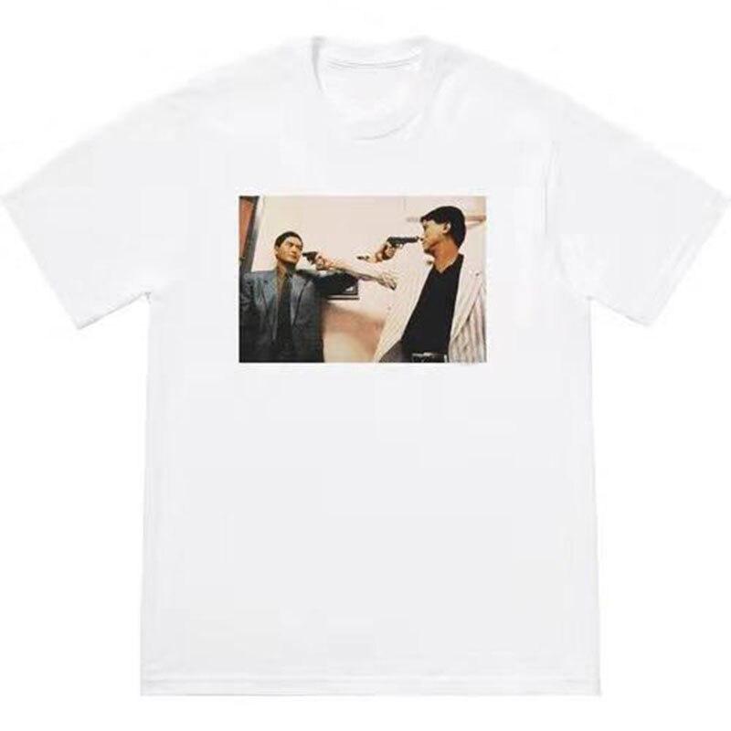 Sureme 2020 Summer New The Killer Trust T-Shirt Men Women HipHop Couples Tees Round Neck 100% Cotton T Shirt Men