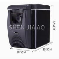 6L mini portable refrigerator car heating and cooling box car small car refrigerator household dual use refrigerato