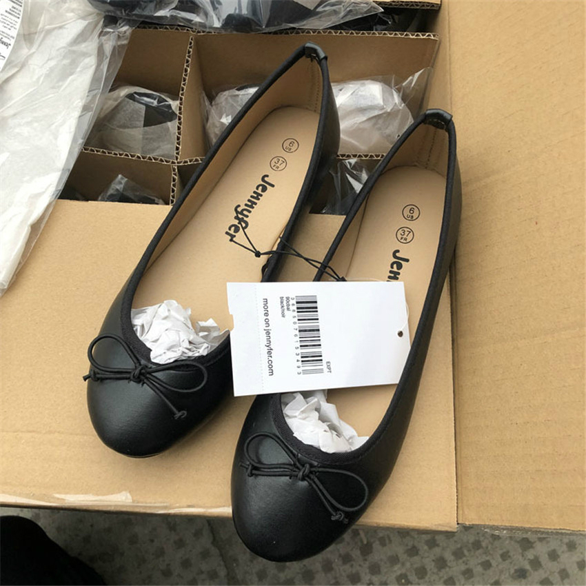 Basic Ballet Shoes Woman Size Plus Flats Spring Casual Shoes Maggie's Walker Women Flats Slip on Flat Shoes Zapatos De Mujer