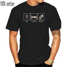 Мужская футболка с круглым вырезом, короткая футболка с круглым вырезом, для сна, езды на мотоцикле, 2020