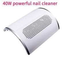 2 в 1 лампа для ногтей и пылесборник для маникюра 80 Вт с двумя мощными вентиляторами и 36 светодиодами, Сушилка для ногтей, пылесос, инструменты для маникюра