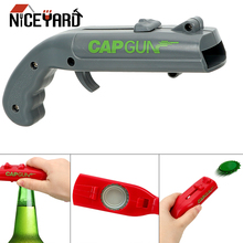 NICEYARD пистолет открывалка для бутылок креативный Летающий колпачок пусковое устройство барный инструмент