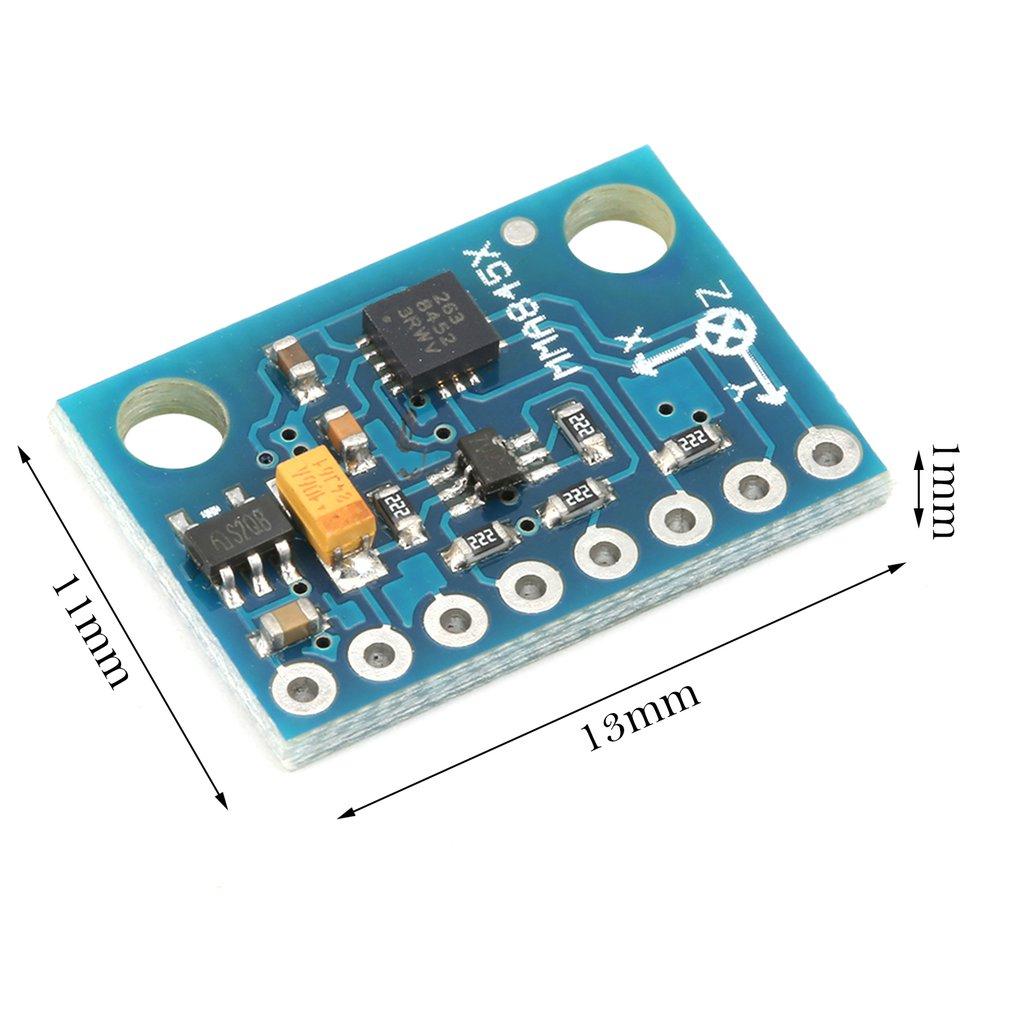 MMA8451 Digital Triaxial Accelerator Accelerometer Sensor Module High-precision Inclination Module GY-45 Precision Tilt