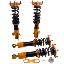 цена на Tuning Coilovers Kit For Subaru Forester XT 2009-2013 Adjustable Damper Front + Rear Shocks Absorbers Struts