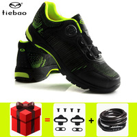 TIEBAO MTB Bicycle Cycling Shoes Leisure Outdoor Sport Sneakers Athletic Breathable Bike Self Lock Shoes zapatillas de ciclismo