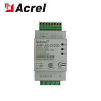 Acrel AGF AE D/200 UL certification sunspec single phase three wire energy meter for inverter