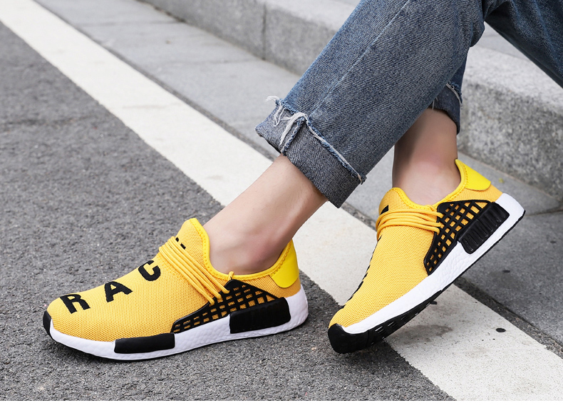 respirável masculino andando sneaker sapatos tamanho grande