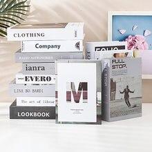 Декоративная Подарочная книга поддельные книги открытое украшение