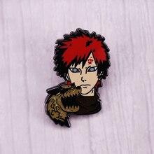 Details about  /Naruto Uzumaki Naruto Uchiha Sasuke Metal Badge Brooch Pin Limited Collect N