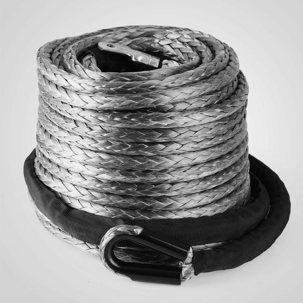 10mm 28m 9299kg Dyneema Forst Synthetik Kunststoff-Seil Seil-Winde Winden-4x4