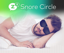 Snore stopper Anti Snore eye mask Prevents snore Black Comfortable Sleep eye mask Snoring Solution Sleep Apnea Sleeping