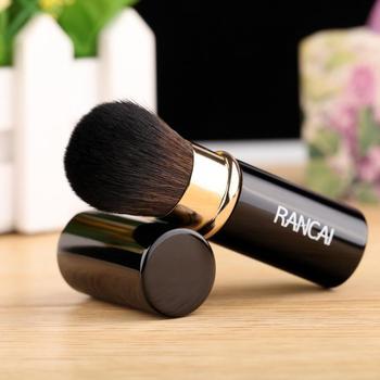 1 sztuk chowane pędzle do makijażu w proszku fundacja pędzel do blendowania pędzel do makijażu twarzy pyłoszczelna łatwy do przenoszenia pędzel do makijażu tanie i dobre opinie Jedna jednostka CN (pochodzenie) Włókno wełniane 1pcs Makeup Brush 8 8*2 2cm podkład POWDER Zestawy i zestawy Pędzlem do bronzera