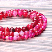 Hot Sale Natural Stone Rose Red Agate Beads 15.5 Pick Size: 4 6 8 10 mm fit Diy Charms Beads Jewelry Making Accessories