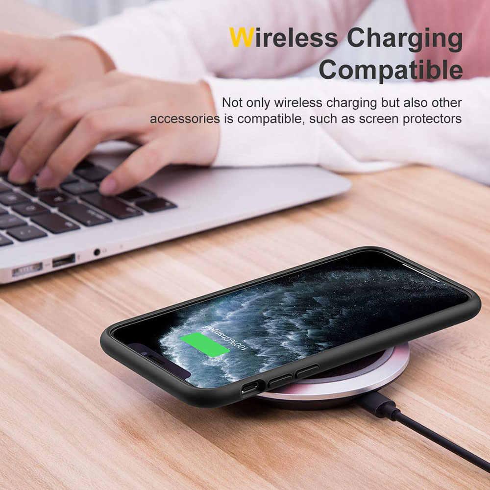 Untuk iPhone 11 Pro X XR X MAX 7 8 Plus SE 2 2020 Mewah Bingkai Warna Matte pelindung Keras untuk iPhone 11 Kasus Capinha