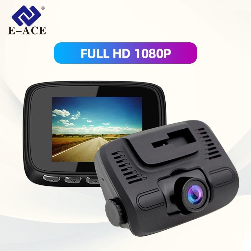 E-ACE B24 Auto Dvr 2,0 Zoll mini Dash Cam Full HD 1080P Auto Kamera Video Kanzler Dual Objektiv Recorder video Automotive Dvr