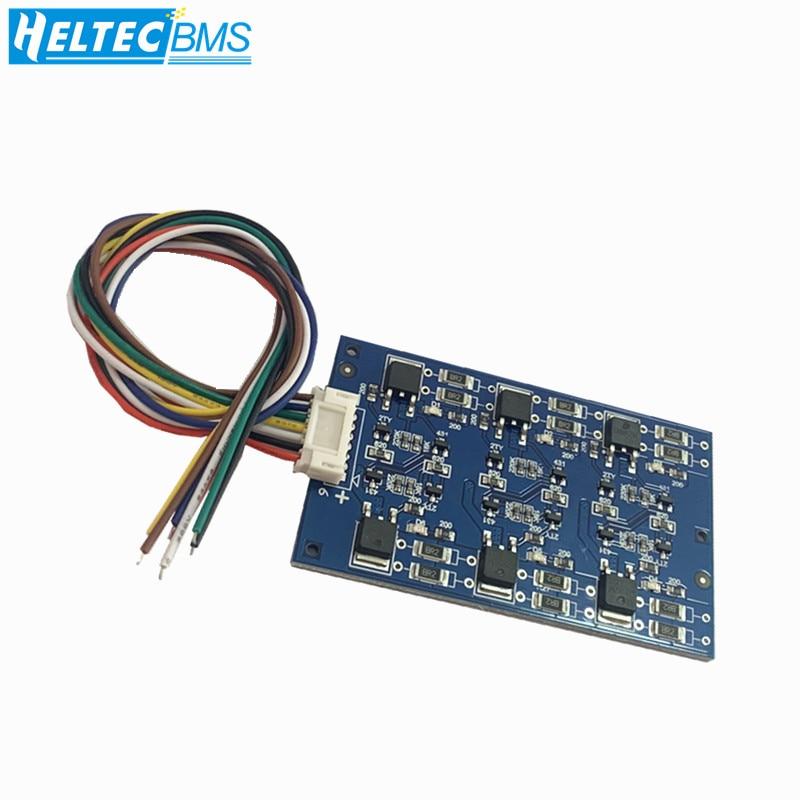 2.7V/16V LTO 6S Balance Board Equalization Circuit  Lithium Titanate Battery/Super Farad Capacitor Protection Board