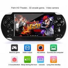 """Elde kullanılır oyun konsolu 4.2 """"5"""" LCD X6 X9 artı çift rocker 8G Retro Video MP5 TF kartı GBA/ 1000 oyunları"""